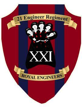 21 Engineer Regiment Plaque